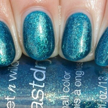 Wet n Wild Teal of Fortune Swatch by Plenty of Colors