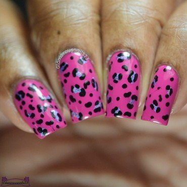 CNT Sept 2017 Day 1 - Dotting Tool But Not Just Dots nail art by glamorousnails23