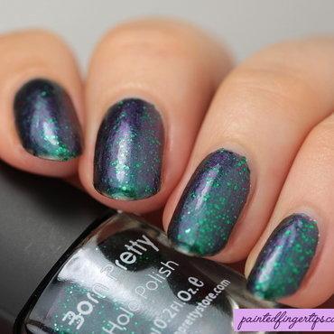 Purple shift with green glitters thumb370f