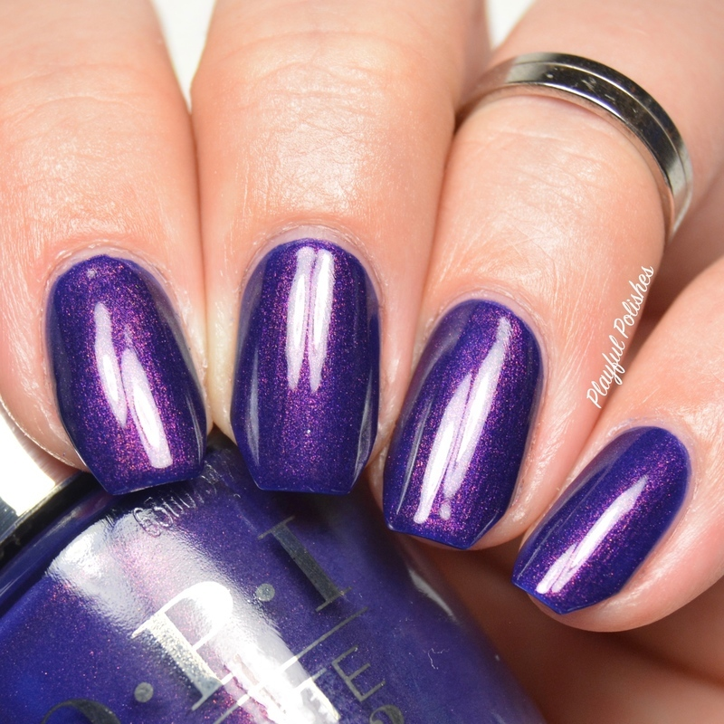OPI Turn On The Northern Lights! Swatch by Playful Polishes