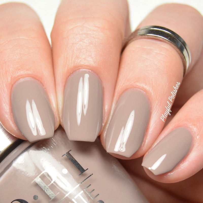 OPI Icelanded a Bottle of OPI Swatch by Playful Polishes