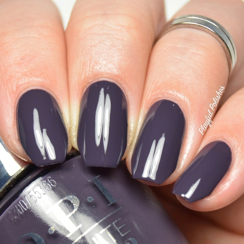 Opi Suzi And The Arctic Fox Swatch By Playful Polishes Nailpolis Museum Of Nail Art
