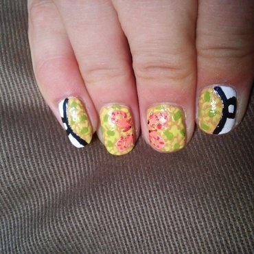 Fingerlicking paella nail art by NaNails
