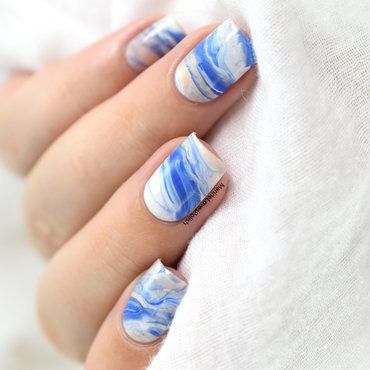 Tidal Wave nail art by Marine Loves Polish