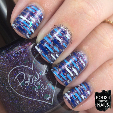 Aurora Gets Her Sea Legs nail art by Marisa  Cavanaugh