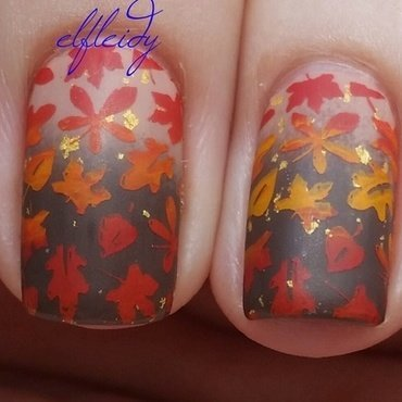 #PAAManiMonday 09-17-2017 nail art by Jenette Maitland-Tomblin