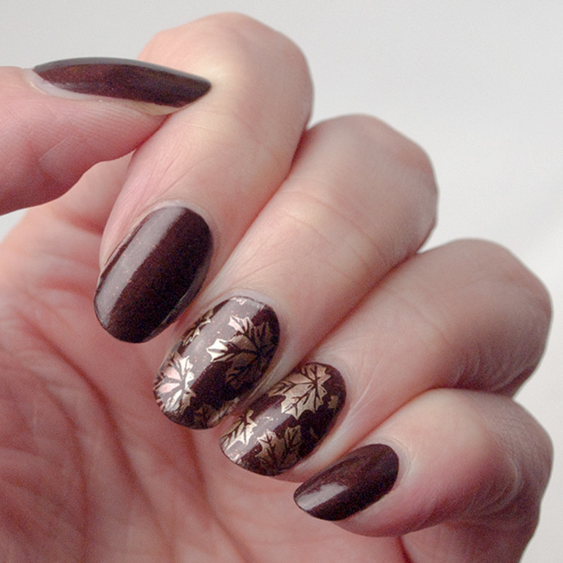 Autumn is here! nail art by What's on my nails today?