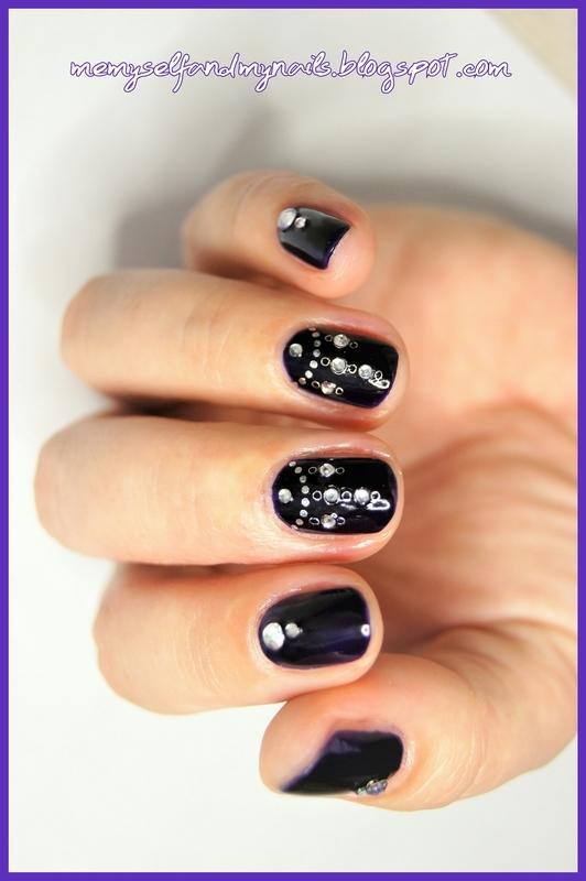 CHANDELIER nail art by ELIZA OK-W
