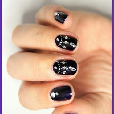 CHANDELIER nail art by ELIZA OK-W
