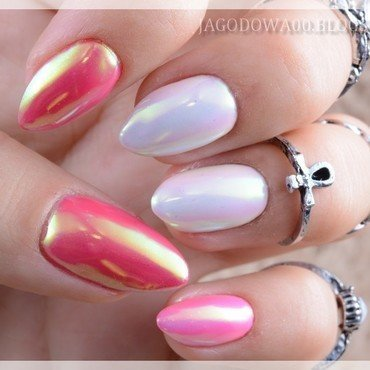 Shine Shine Shine nail art by Jadwiga