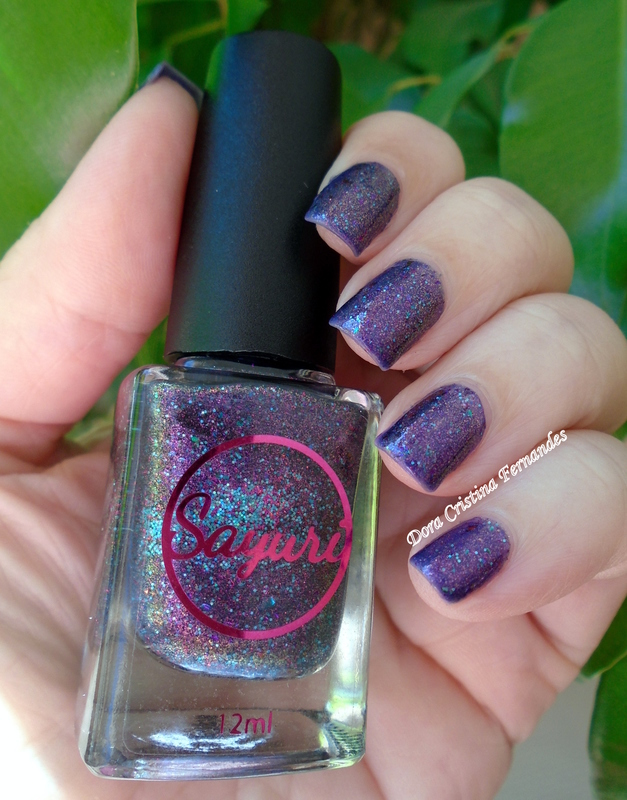 Sayuri Nail Lacquer Bringers Of Nightmares Swatch by Dora Cristina Fernandes
