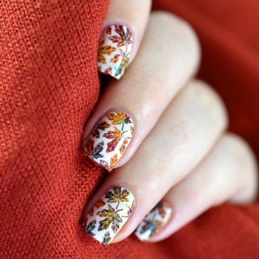 Autumn leaves nail art tutorial 20 2  thumb370f