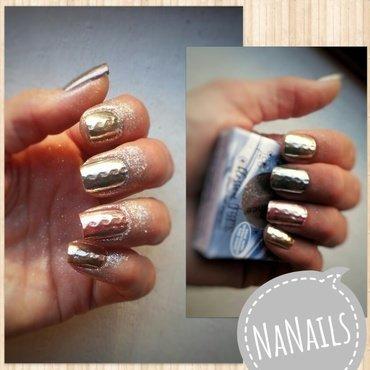 Uhh so shiny! nail art by NaNails