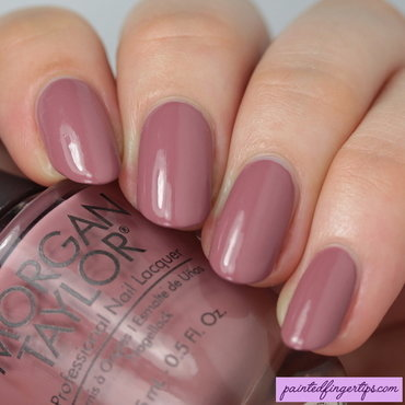 Morgan Taylor Mauve Your Feet Swatch by Kerry_Fingertips