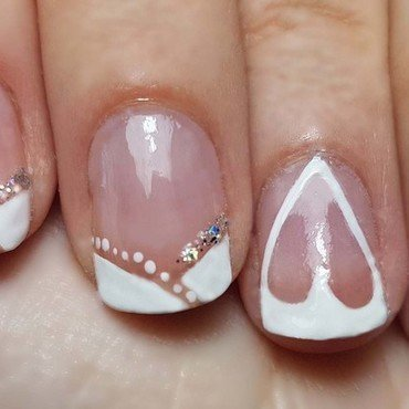 Nail art wedding nail art by Depoli