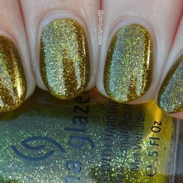 China Glaze Zombie zest Swatch by Plenty of Colors