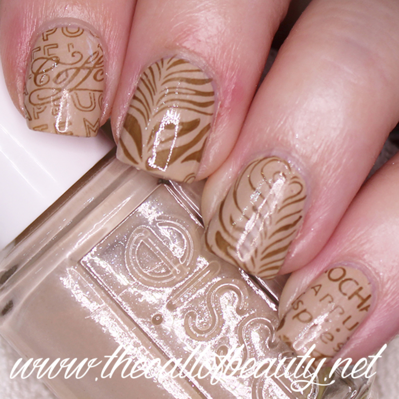 Latte Art nail art by The Call of Beauty