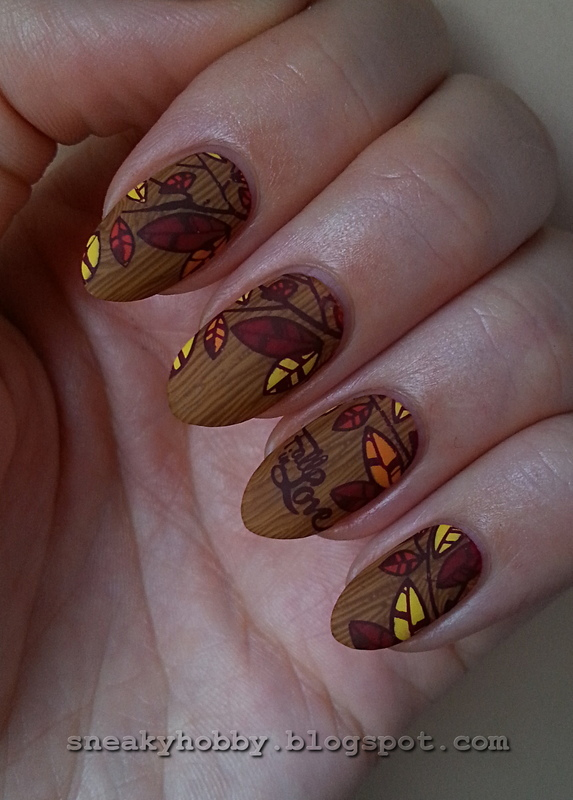 FALL In Love nail art by Mgielka M