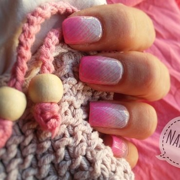 Dress to impress nail art by NaNails