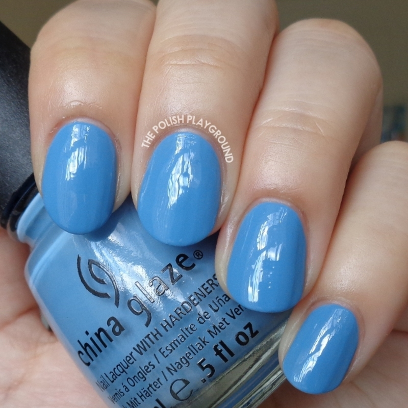 China Glaze Electric Beat Swatch by Lisa N