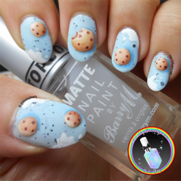 3D Gel Cookie Nail Art nail art by Ithfifi Williams