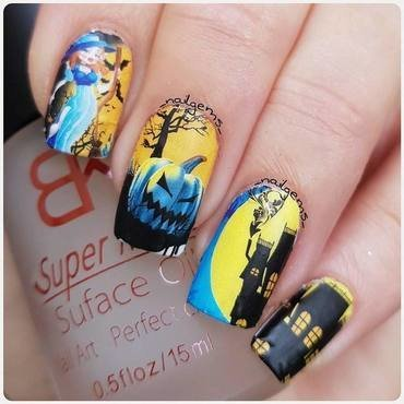 halloween nail art nail art by beautybigbang