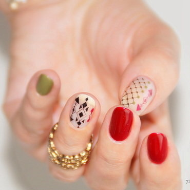More than words nail art by 74ines