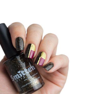 Color Blocking Nails nail art by Sabrina