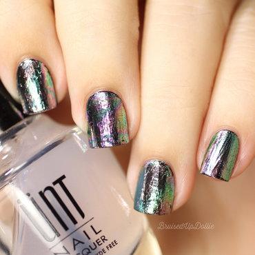 nail foils nail art by beautybigbang