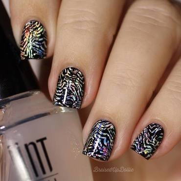 creative nails with nail foils nail art by beautybigbang