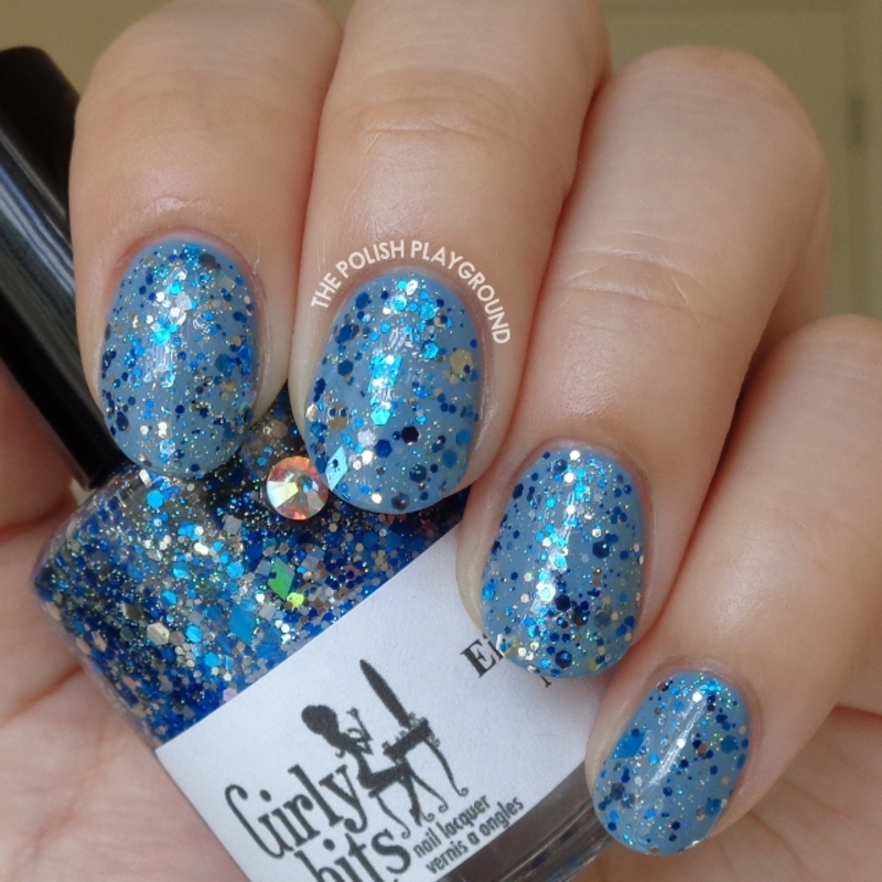 Girly Bits Eight Crazy Nights Swatch by Lisa N