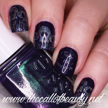 Hamlet nail art by The Call of Beauty