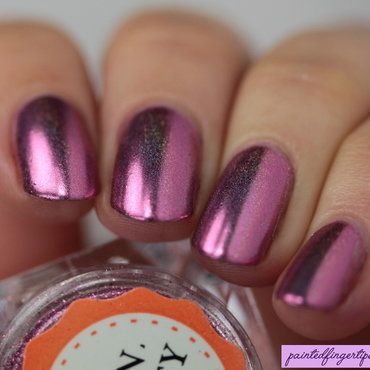 Angled bps nail powder holo magenta thumb370f