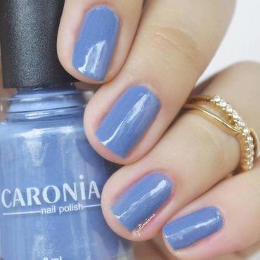 Caronia Bohemian Blue Swatch by ℐustine