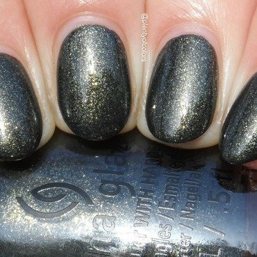 China Glaze Life's Grimm Swatch by Plenty of Colors