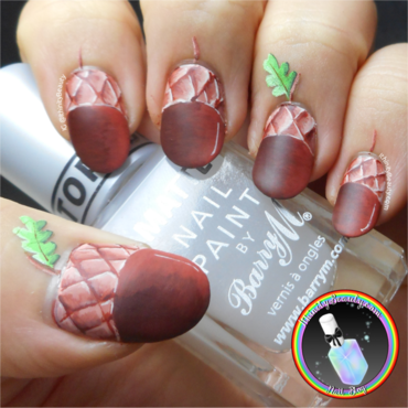 Nutty  Nails nail art by Ithfifi Williams