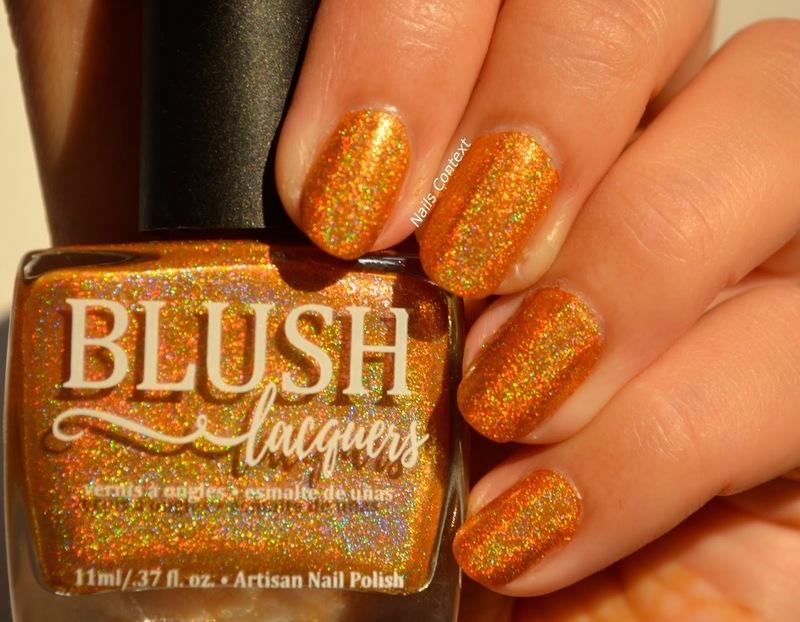 Blush Lacquers CHA-CHA-CHA! Swatch by NailsContext