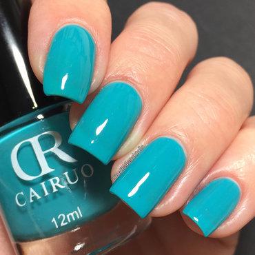 blue thermal nail polish nail art by beautybigbang