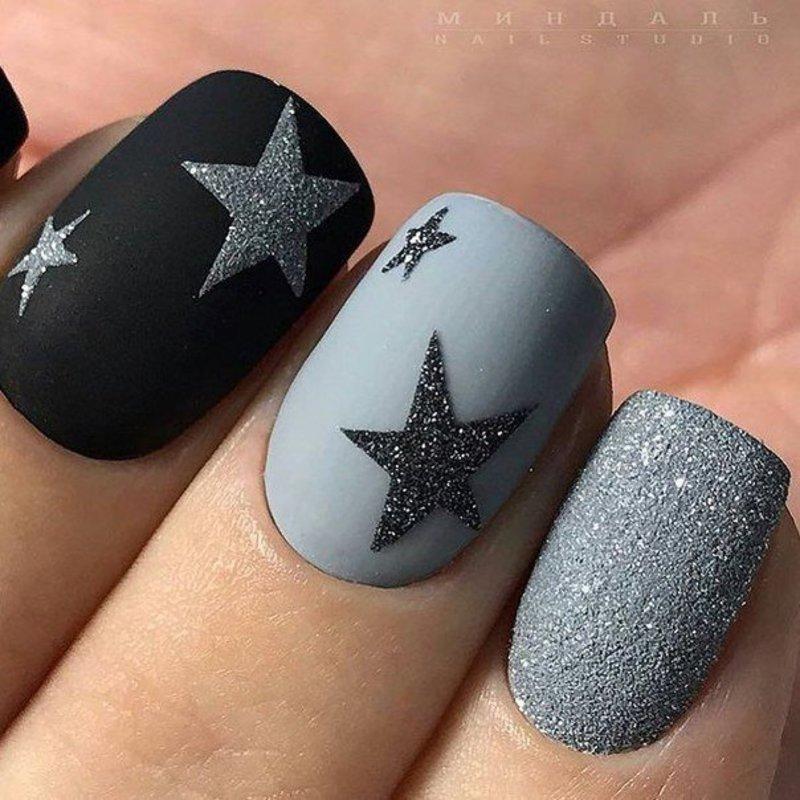 matte nails nail art by beautybigbang
