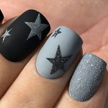 matte nails nail art by beautybigbang