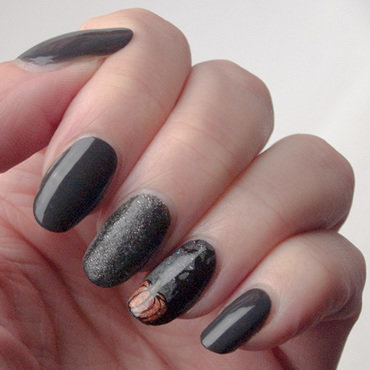 Friday triad: inspired by @badgirlnails (again) nail art by What's on my nails today?