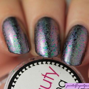 Bbb purple green nail flakies thumb370f