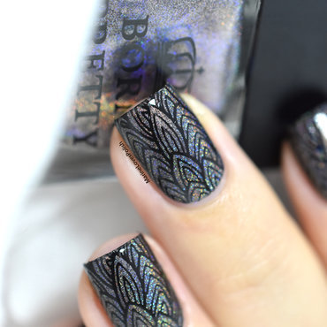 Feather nail art sugar bubbles sb 028 20 3  thumb370f