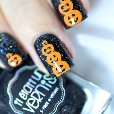 Halloween pumpkin nail art tutorial 20 1  thumb370f