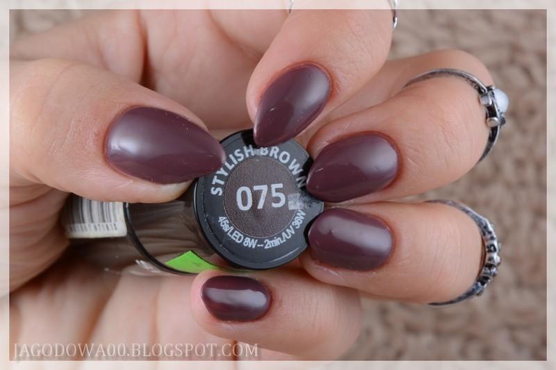 Semilac 075 Stylish Brown Swatch by Jadwiga