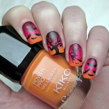 Witch nails nail art by Sanela