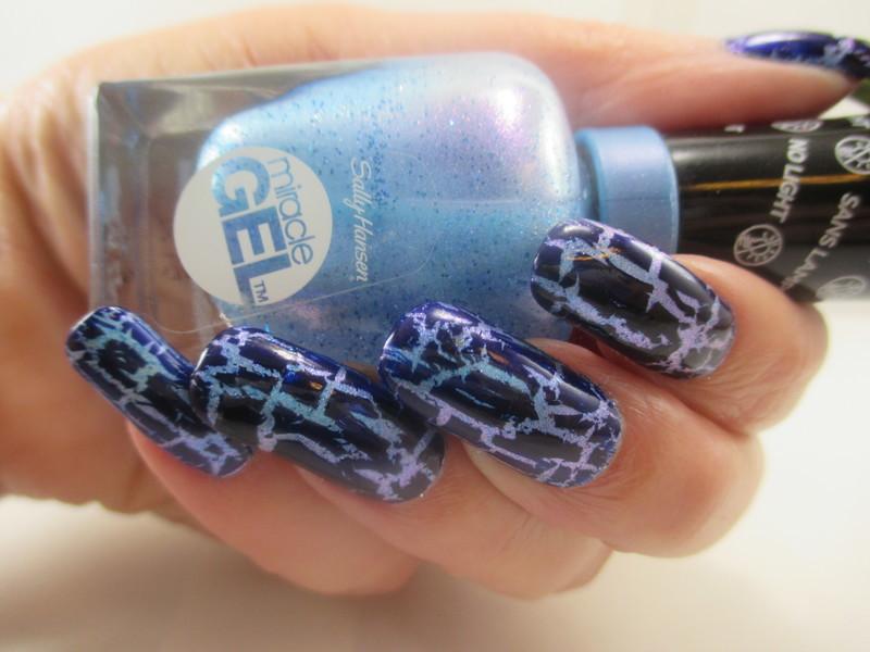 Cracking Up nail art by NinaB