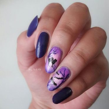 slim nail design nail art by beautybigbang