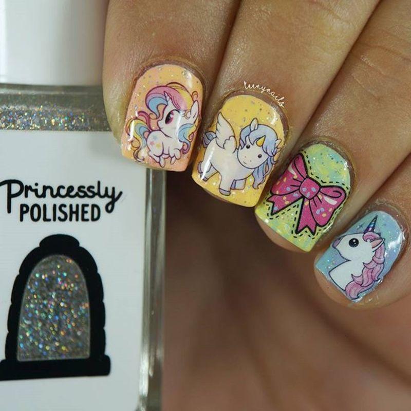 adorable nails for kids nail art by beautybigbang - Nailpolis ...