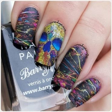 halloween nail design nail art by beautybigbang